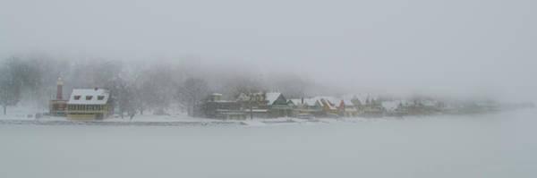 Philadelphia Phillies Digital Art - Snow Storm On Boathouse Row Philadelphia by Bill Cannon