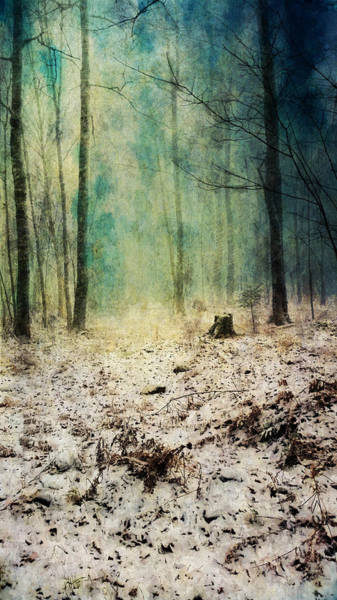 Painting - Snow To Blue by Christina VanGinkel