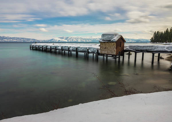 Photograph - Snow White Pier by Alpha Wanderlust