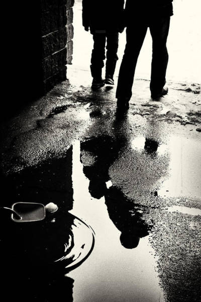 Photograph - Snowball Shovel And The People In The Puddle by John Williams