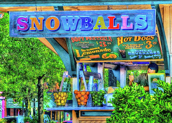 Photograph - Snowballs And Lemonade by Dennis Dame