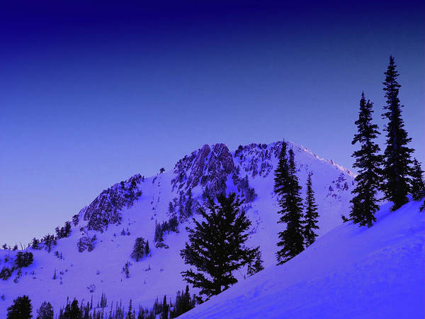 Photograph - Snowbasin by Raymond Salani III