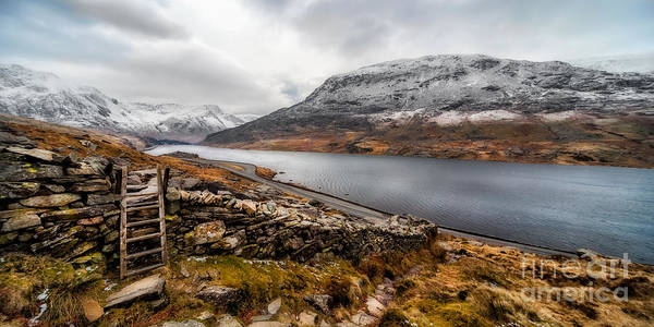Snowdonia Wall Art - Photograph - Snowcapped Valley by Adrian Evans