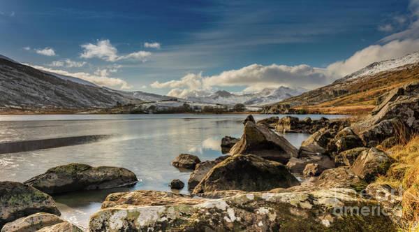 Snowdonia Wall Art - Photograph - Snowdon From Llynnau Mymbyr by Adrian Evans