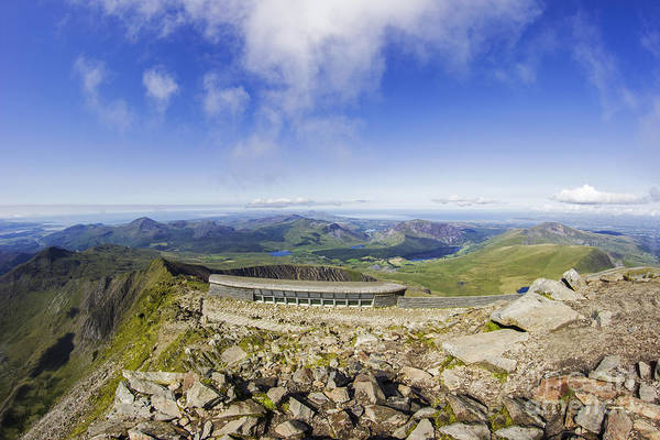 Photograph - Snowdon Cafe by Ian Mitchell