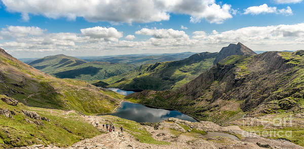 Pig Photograph - Snowdon Miners Path by Adrian Evans
