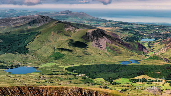 Wall Art - Photograph - Snowdon Moutain View by Adrian Evans