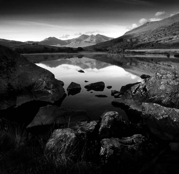 Photograph - Snowdon Range From Llynnau Mymbyr by Peter OReilly