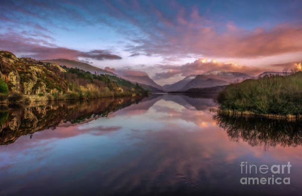 North Wales Wall Art - Photograph - Snowdon Sunset by Adrian Evans