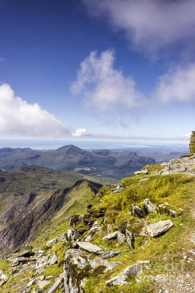 Photograph - Snowdon To Anglesey by Ian Mitchell