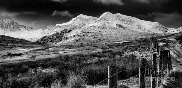 Photograph - Snowdon Winter by Adrian Evans