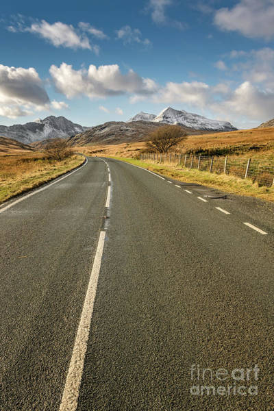 Welsh Photograph - Snowdonia Ahead by Adrian Evans
