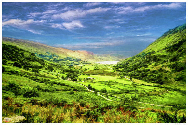 Wales Mixed Media - Snowdonia Moment by Rogermike Wilson