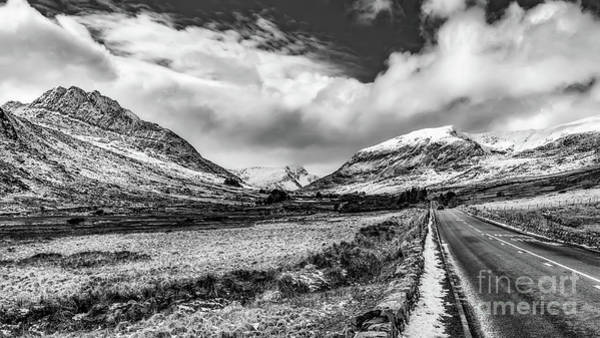 Photograph - Snowdonia Mountain Highway by Adrian Evans