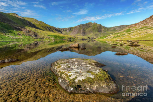Sheep Rock Wall Art - Photograph - Snowdonia Mountain Reflections by Adrian Evans
