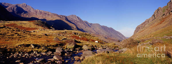 Photograph - Snowdonia Panoramic View by Warren Photographic