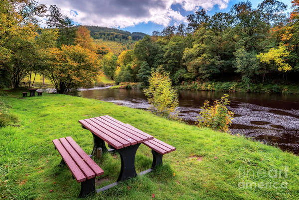 Wall Art - Photograph - Snowdonia River Autumn by Adrian Evans