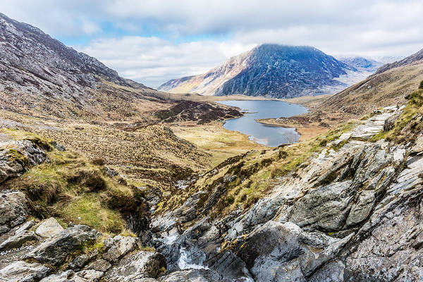 Photograph - Snowdonia View by Nick Bywater