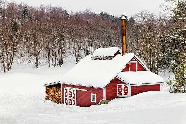 Photograph - Snowed In At The Sugar Shack by Kristen Wilkinson