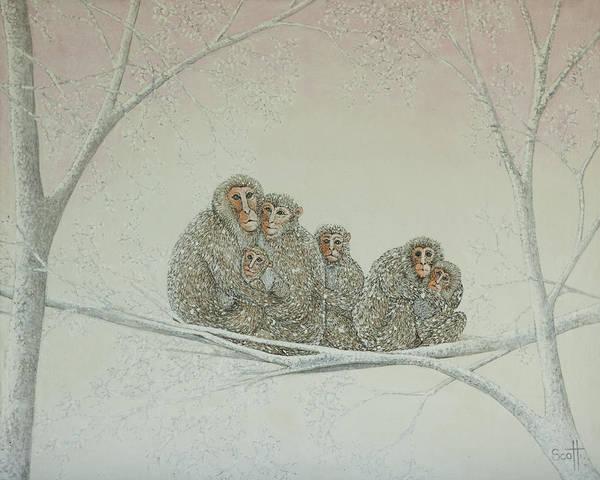 Wall Art - Painting - Snowed Under by Pat Scott