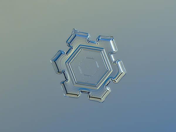 Photograph - Snowflake Photo - Beneath A Steel Sky by Alexey Kljatov