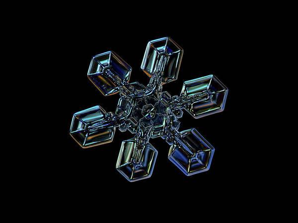 Snowflake Photo - High Voltage IIi Art Print