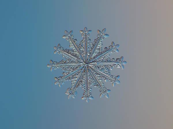 Snowflake Photo - Wheel Of Time Art Print