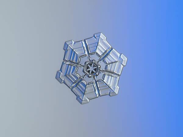 Photograph - Snowflake Photo - Winter Fortress by Alexey Kljatov