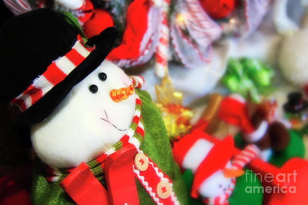 Photograph - Snowman For Christmas by Jill Lang