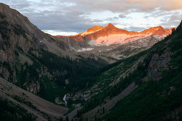 Wall Art - Photograph - Snowmass Mountain Sunrise by Aaron Spong