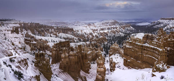 Photograph - Snowstorm At Bryce Canyon by Owen Weber