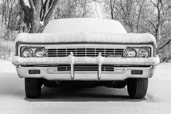 Photograph - Snowy Chevy by Todd Klassy