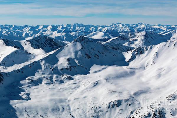 Wall Art - Photograph - Snowy Colorado Mountains by Steve Krull