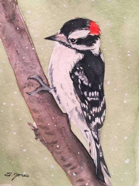 Painting - Snowy Downy by Sonja Jones
