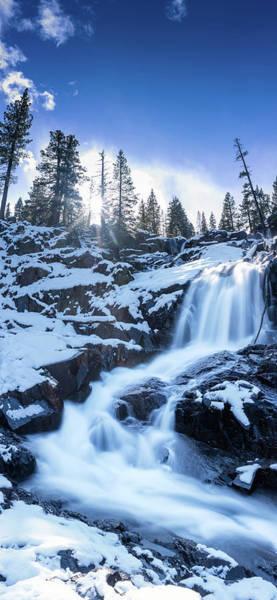 Photograph - Snowy Falls By Brad Scott by Brad Scott