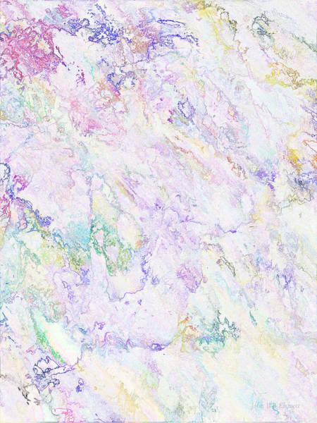 Painting - Snowy Flowers by John WR Emmett