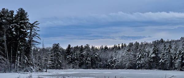 Photograph - Snowy Lake by Chris Alberding