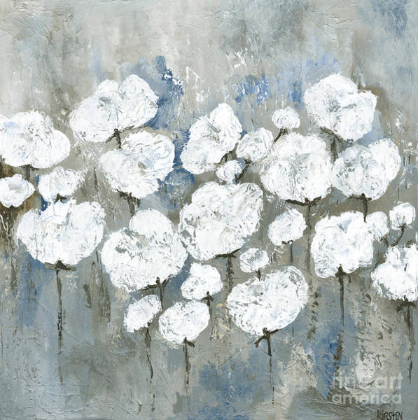 Wall Art - Painting - Snowy Mississippi Summer by Kirsten Reed