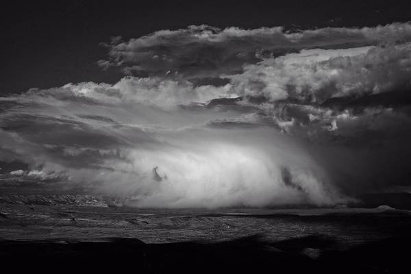 Photograph - Snowy Mix Storm Over The Verde Valley by Ron Chilston