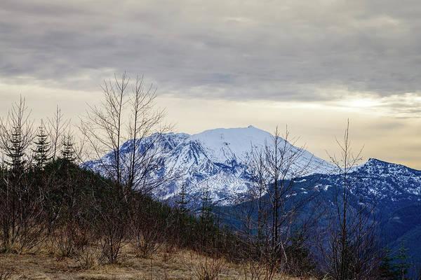 Photograph - Snowy Mountain by Michael Scott