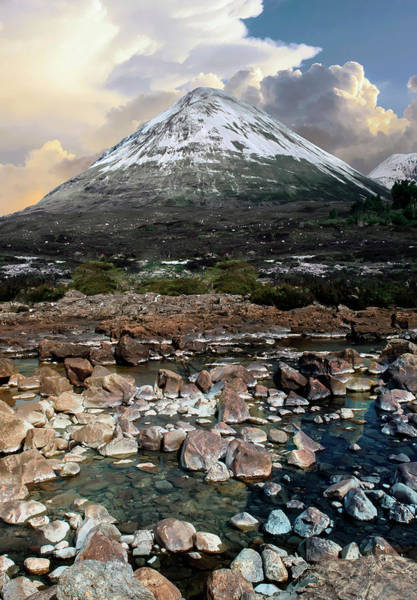 Photograph - Snowy Mountains Of Isle Of Skye by Jaroslaw Blaminsky