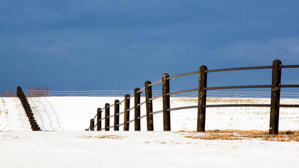 Photograph - Snowy Pasture by Rod Best
