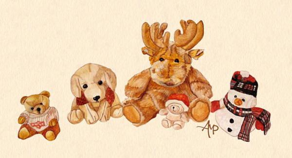 Snowy Patrol Art Print
