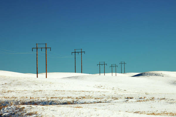 Photograph - Snowy Power by Todd Klassy