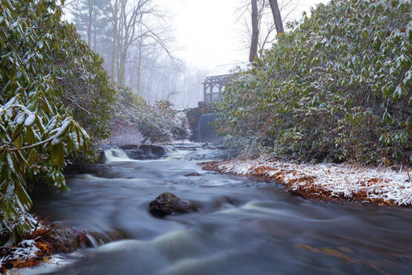 Photograph - Snowy River And Waterfall by Brian Hale