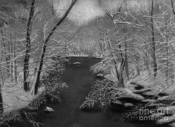Painting - Snowy River by Lynn Quinn
