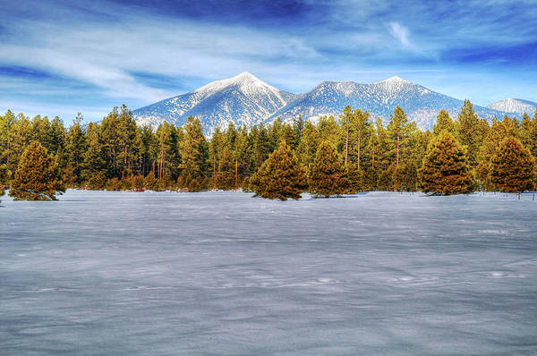 Wall Art - Photograph - Snowy San Francisco Peaks by Kelly Wade