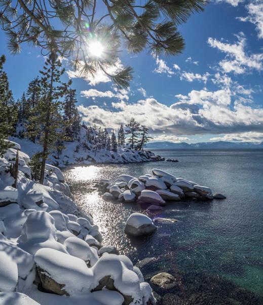Snowy Tahoe Art Print