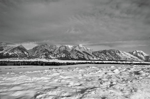 Wall Art - Photograph - Snowy Tetons by Melissa  Riggs