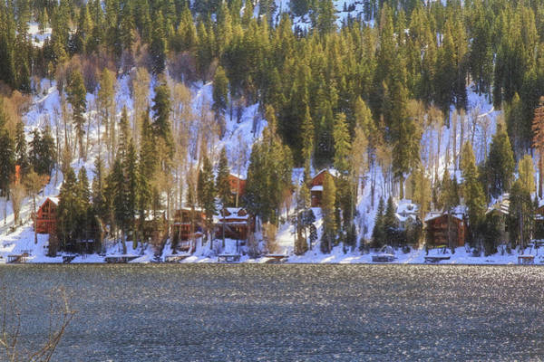 Donner Photograph - Snowy Village by Donna Kennedy